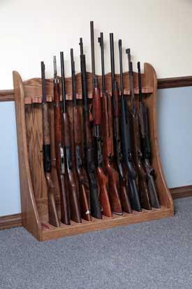 Rotating+Gun+Rack+Plans used this instructable to make this gun rack ...