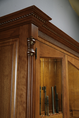 Fishing Rod And 12 Gun Gunsafe Gun Cabinet